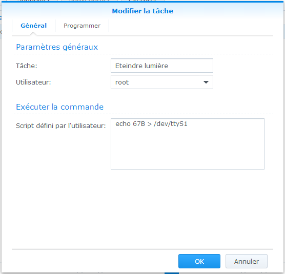 comment arreter nas synology